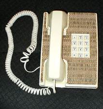 VINTAGE EXETER CHANGEABLE FACE DESK TELEPHONE, ORIGINAL BOX, 3 COVERS - BELL