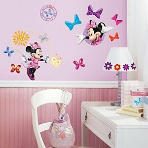Roommates-Mickey-amp-Friends-Minnie-039-s-Bowtique-Boutique-Peel-amp-Stick-Wall-Decals