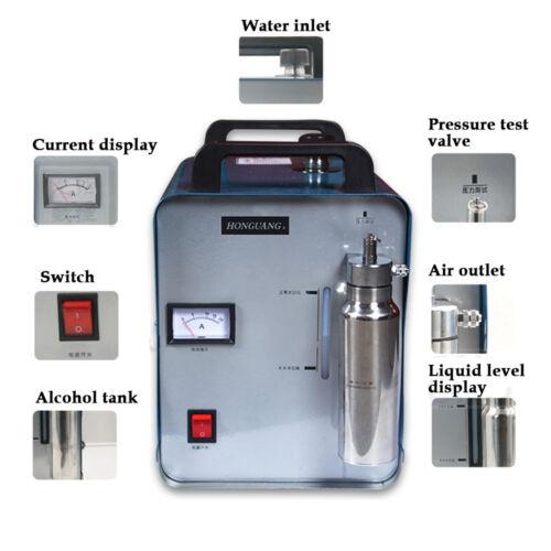 Oxy-hidrógeno generador de agua soldador Acrílico Pulidor De Llama Soldador 75L
