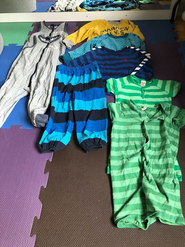 Blandet tøj, Rest pakke, Blandet