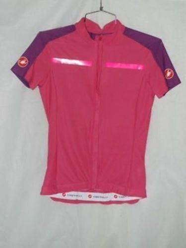 Castelli Women's Pink Ispirata Cycling Jersey Size S New