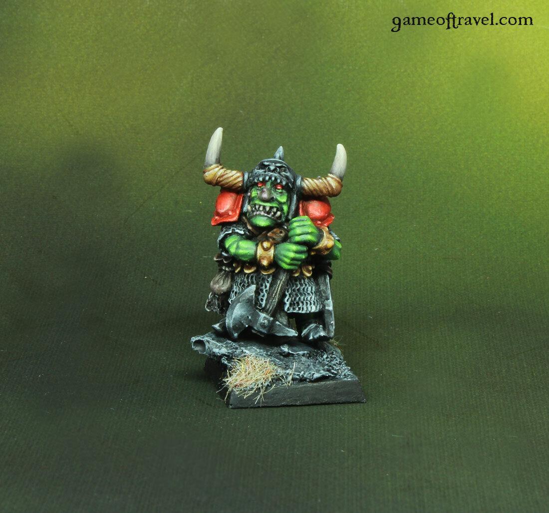 Eroe Goblin Warhammer fantasyc  età di Sigmar TALISuomoO dipinto  outlet online