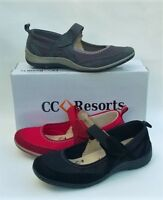 Cc Resorts Cloud Comfort Leather Comfort Walking Shoe - Star