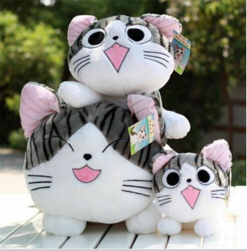 2019 Giant Cute Cat Sweet Home Plush Toy Dolls Laying Pillow Kids Birthday Gift
