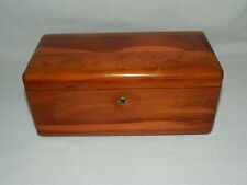 Vtg Edelstein's Better Furniture Texas Cedar Wood Salesman Sample Hope Chest Box