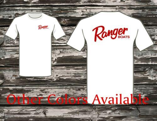 Screenprinted Ranger Boats Red Logo T-Shirt Many Colors