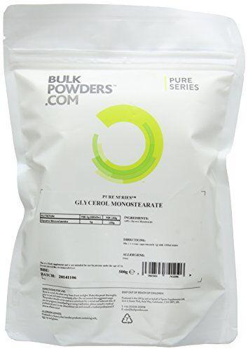 BULK POWDERS 500g Glycerol Monostearate