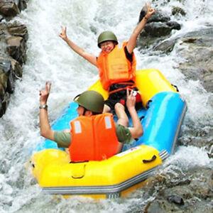 New-Orange-Adult-Foam-Flotation-Drifting-Swimming-Life-Jacket-Vest-With-Whistle