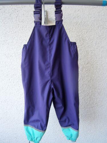 80//86 und 116//122 TOP Qualität Kinder Regenhose Buddelhose lila Gr