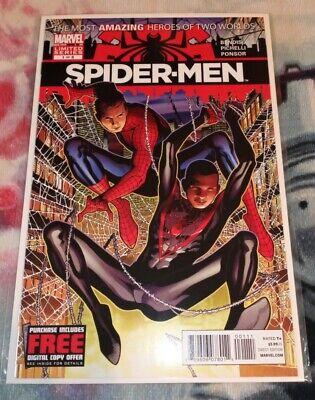 Spider-Men #1 2012 Marvel Key 1st meeting Of Peter Parker /& Miles Morales NM