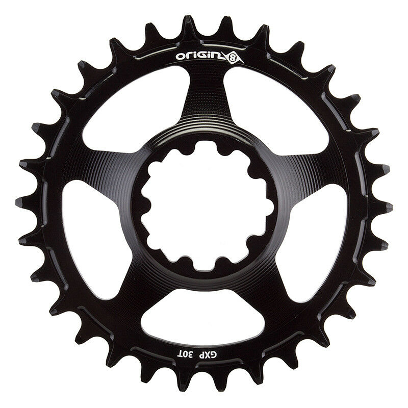 Origin-8 Holdfast Direct 1x Chainrings Gxp 30t 10 11s Bk