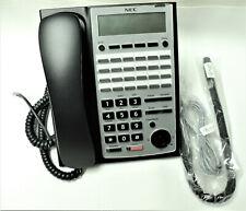 Nec Sl1100 Phone Ip4ww 24txh Tel Bk Black Charcoal Tested Warranty 1100063