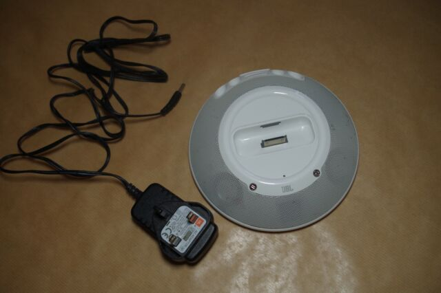 jbl white micro ii portable speaker