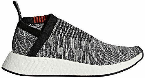 adidas Originals Men's NMD_CS2 PK Sneaker, Black/Black/Future Harvest, 13 M US