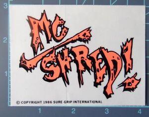 Steadham-Designs-SGI-Vintage-1986-MC-Shred-sticker-NOS-powell-peralta-alva