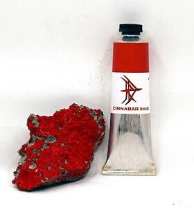 Cinnabar (Hue) - Handmade Oil Paint - 37ml