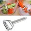 Cutter-en-acier-inoxydable-couteau-rapes-legumes-Outils-Cuisson-Cuisine-Peeler-One miniature 1