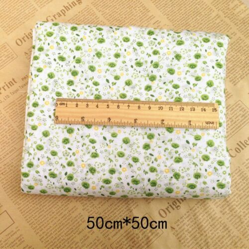 1~10X Cotton Fabric Patchwork Sewing Doll Clothes Quilt DIY Handmade Hand ttoo