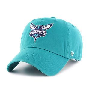 Image is loading Charlotte-Hornets-47-Brand-Clean-Up-Hat-Adjustable- ebd9e9691c13