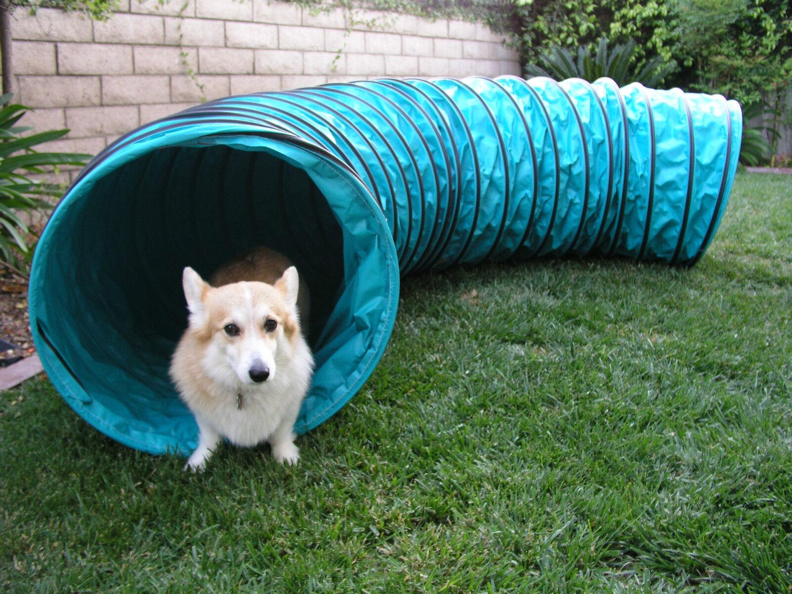 Very Durable Vinyl 10' Tunnel Dog Agility Equipment