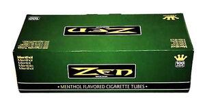 Zen-100MM-Size-Cigarette-Green-Menthol-Tubes-Box-200-ct-Filter-Tube-Wholesale