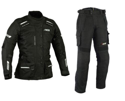 Motorrad Kombi Damen Jacke und Hose Damen Motorrad Mofa Winter Kombi Neu