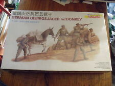 Dragon 1:35 German Gebirgsjager w/Donkey