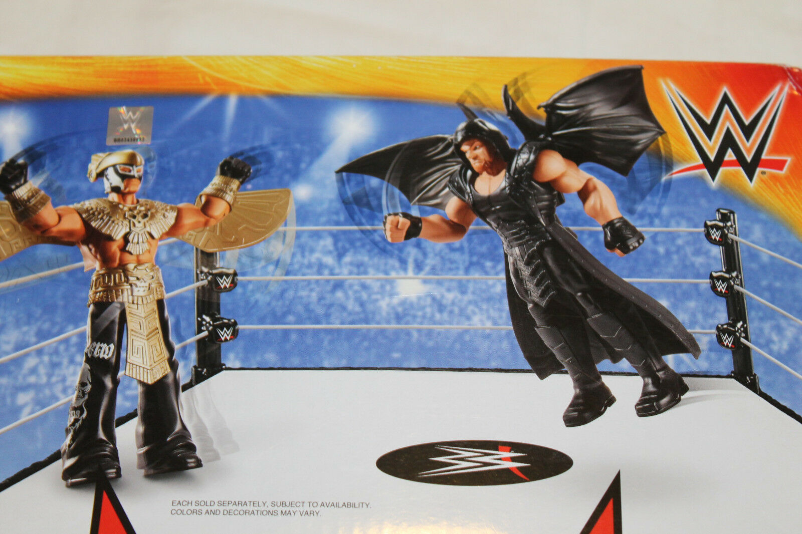 WRESTLING WWE ACTION FIGURE ULTIMATE WARRIOR 30CM DELUXE TRASFORM.