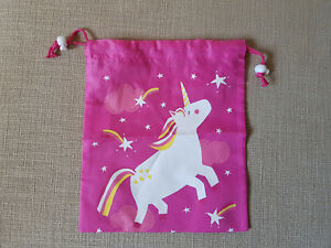 *** Licorne Draw String Bag ***-afficher Le Titre D'origine