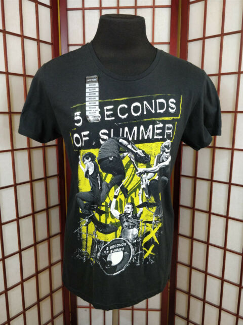5 Seconds Of Summer Sos Rock Band Sz Medium Shirt Derping Hot Topic