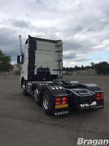 To Fit Volvo FM4 Euro 6 2013+ Steel Mud Guard Wing Top Strip Trim 6 Piece Set
