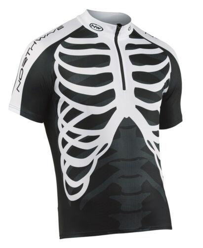Northwave Skeleton vélo maillot court Noir//Blanc 2019