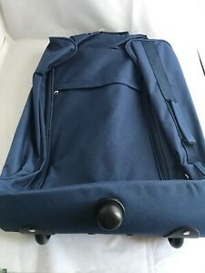 Kono-Pull-Along-Travel-Bag-Suitcase-Blue