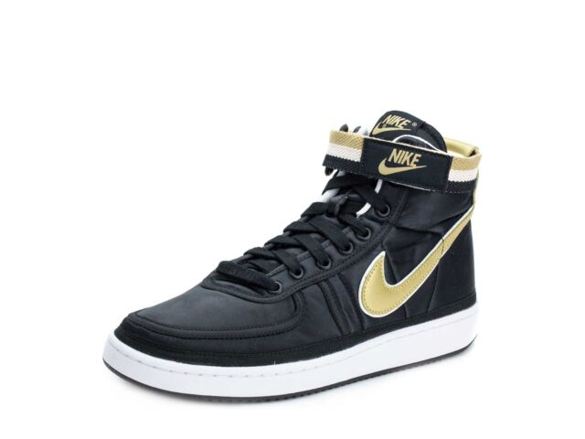 3212e79d6d6731 Nike Vandal High Supreme QS Black Gold Ah8652-002 for sale online
