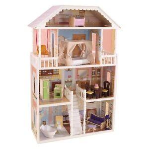 NEW-KidKraft-Savannah-Dollhouse