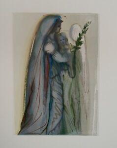 Estampe-DALI-Preparation-a-la-priere-finale-Divine-comedie-DANTE-Certificat