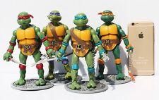 Teenage Mutant Ninja Turtles Action Figures 4 Pcs TMNT Toys Dolls US Shipping#