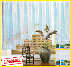 Various Designs And Sizes Choice Of Jardiniere Net Curtains