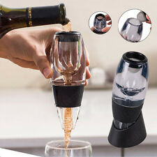 Quality Red Wine Aerator + Stand + Filter Wine Aerator Decanter Set