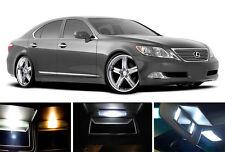 Xenon White Vanity / Sun visor  LED light Bulbs for Lexus LS 430 LS 460 (8 Pcs)
