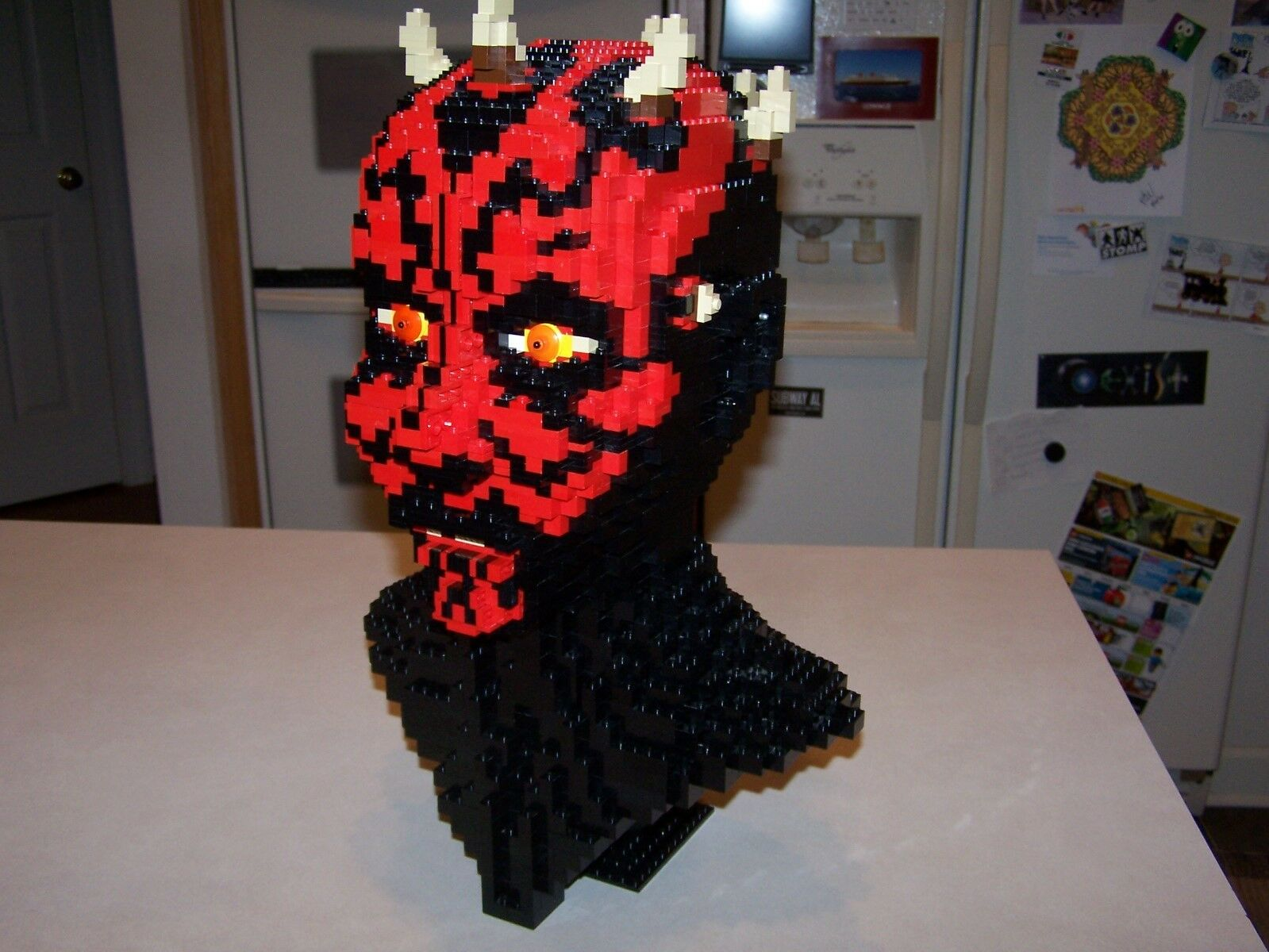 Lego 10018 Darth Maul - UCS Sculpture Star Wars 100% Complete