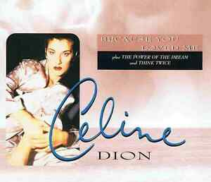 Celine-Dion-because-You-Loved-Me-4-Track-Maxi-CD-NUOVO