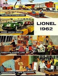 1962 LIONEL TRAINS CONSUMER CATALOG MINT