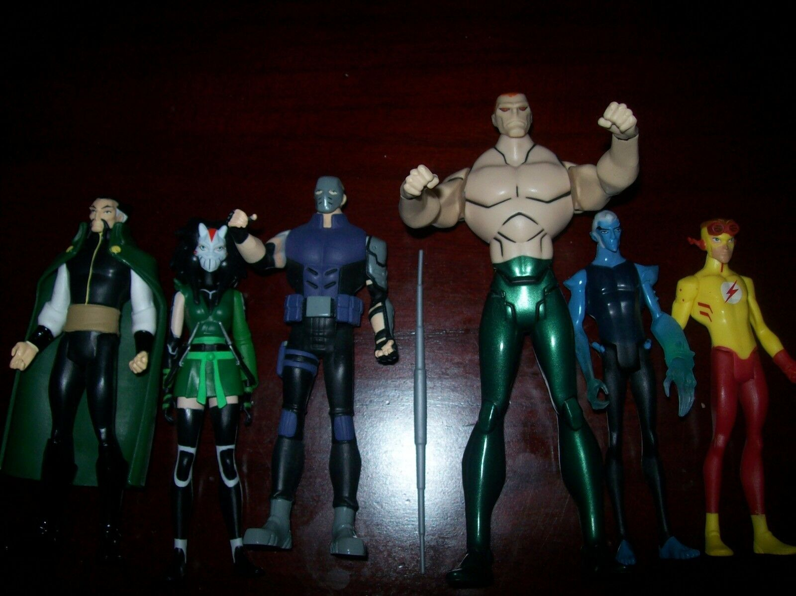 DC YOUNG JUSTICE SEASON 3 FIGURE SET SET SET JUSTICE LEAGUE AMAZO FIGURE ce5f55