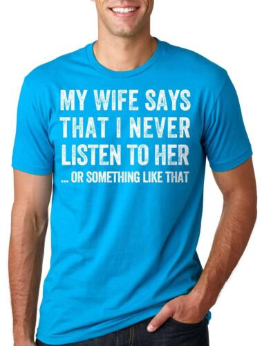 Funny T-shirt Gift for Husband Wife T-shirt Fathers Day Gift Funny Dad T shirt