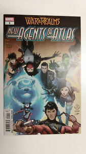 WAR OF THE REALMS NEW AGENTS OF ATLAS #1  1st Printing      / 2019 Marvel Comics