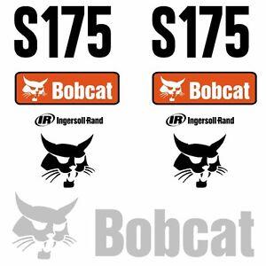 S175-Decals-S175-Stickers-Bobcat-Skid-Steer-loader-DECAL-SET-Kit