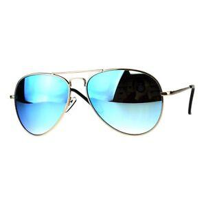 cd3eaa837 Image is loading Classic-Cop-Aviator-Sunglasses-Metal-Frame-Spring-Hinge-