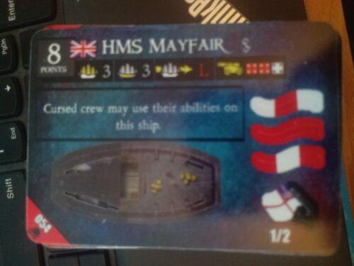 Pirates Davey Jones' Curse #054 HMS Mayfair Pocketmodel NrMint-Mint