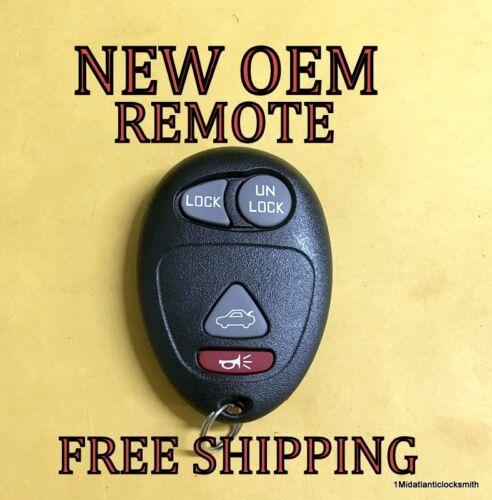 NEW OEM GM PONTIAC BUICK OLDSMOBILE KEYLESS REMOTE FOB TRANSMITTER L2C0007T